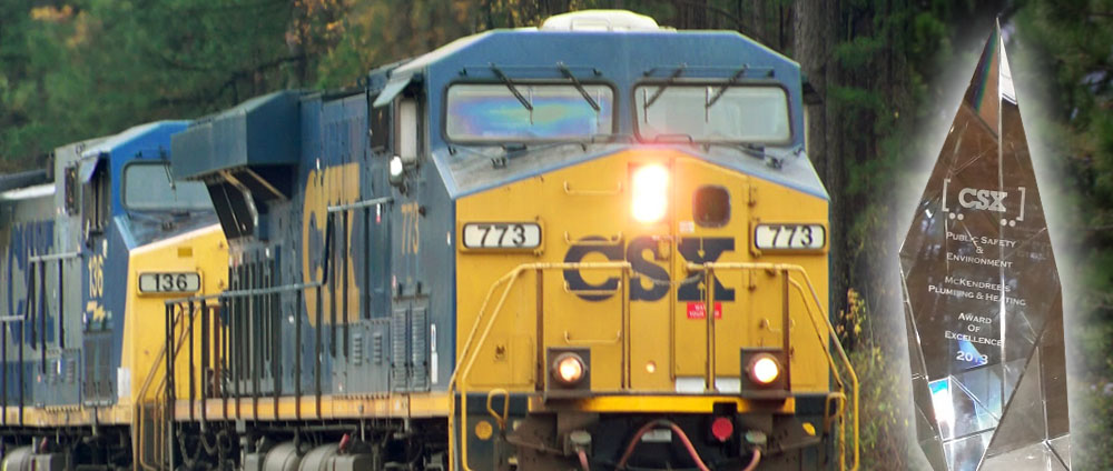 McKendree's Wins Coveted CSX Award!